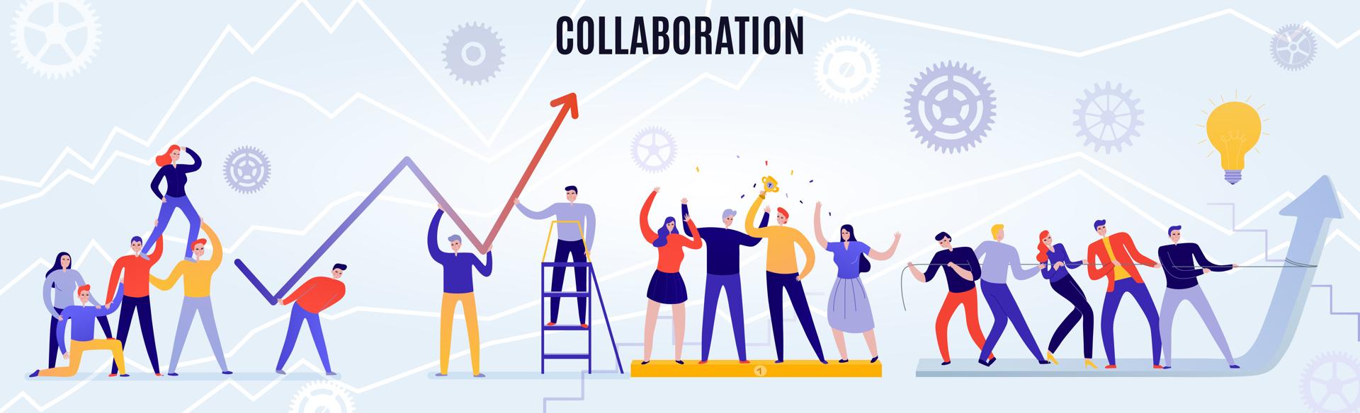 La collaboration est une des valeurs essentielles de l'agence de sites web Sempleo