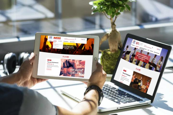 Vous pouvez réaliser le site internet portail de votre mairie et développer des mini-sites avec un gabarit similaire ou identique afin de permettre à vos services locaux.