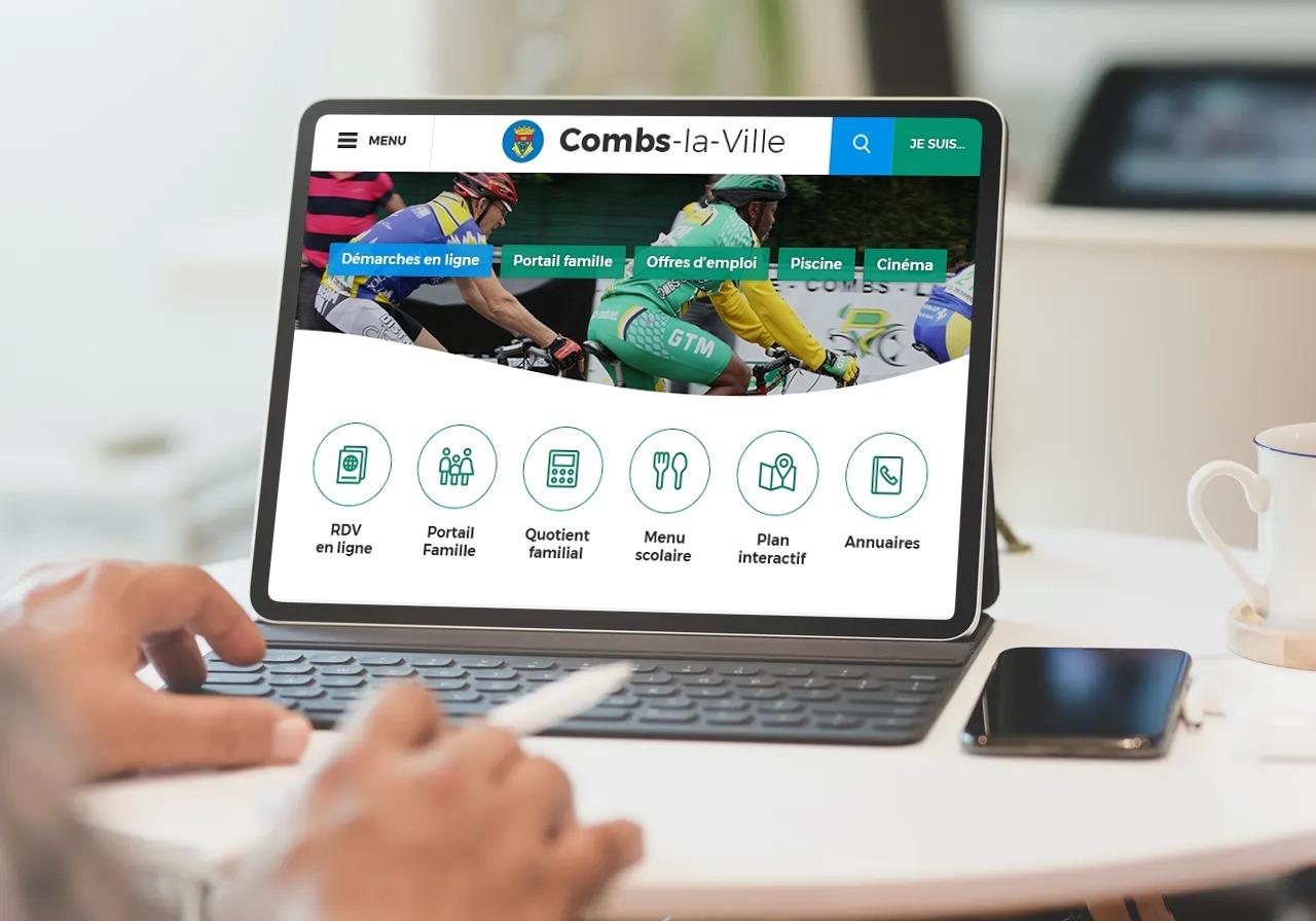 Combs-La-Ville a choisi Artifica pour développer son site sur-mesure avec le CMS open source TYPO3.