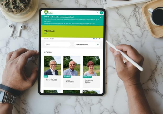 Les annuaires de votre site internet Sempleo vous permettent de présenter les élus, les entreprises et les associations.